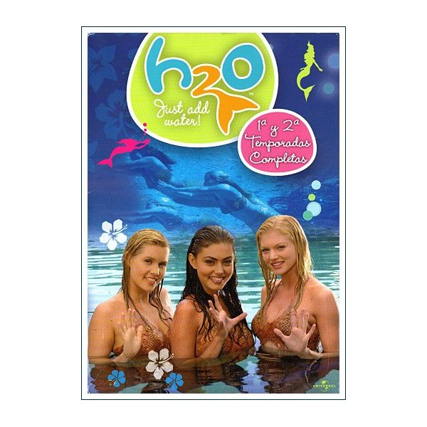 H2O Temporada 1 Y 2 (8 DVD)