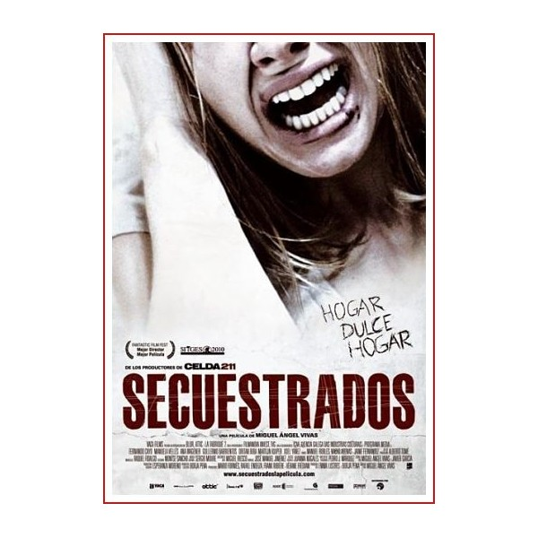 SECUESTRADOS DVD 2010 Cine Español