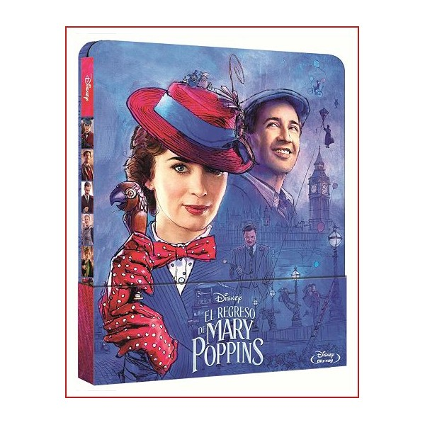 El Regreso De Mary Poppins Edición Metálica