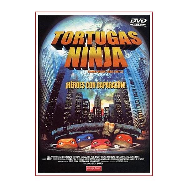 TORTUGAS NINJA HEROES CON CAPARAZÓN DVD 1990 Infantil