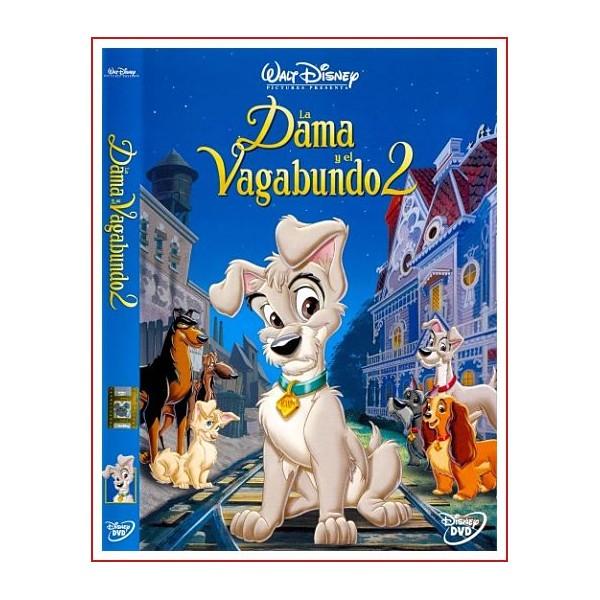 LA DAMA Y EL VAGABUNDO 2 dvd Infantil 2001 Música Martin Erskine