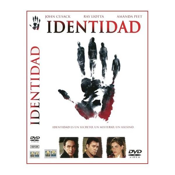 IDENTIDAD 2003 Dvd Suspense Dirección James Mangold