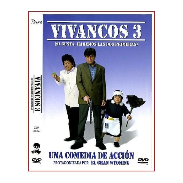 VIVANCOS 3 DVD 2002 Comedia de Cine Español Dirigida por Albert Saguer