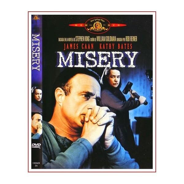 MISERY Dvd 1990 Suspense Dirigida por Rob Reiner