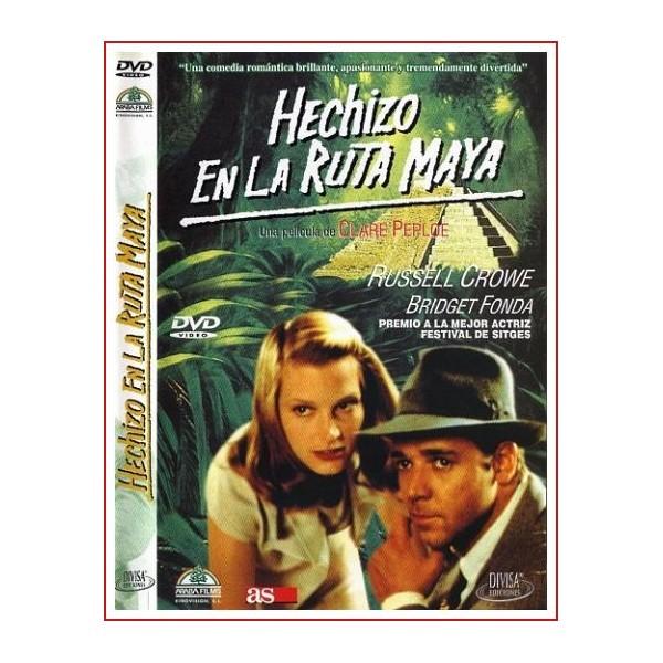 Hechizo en la ruta maya (Rough Magic) Drama romántico Dir Clare Peploe