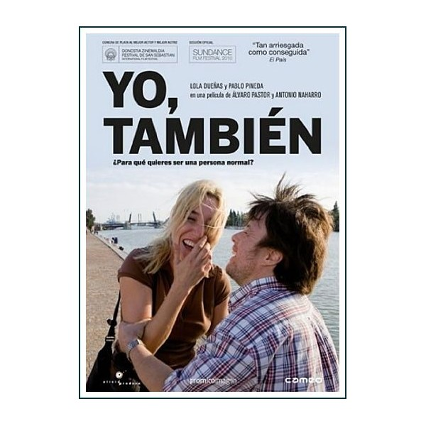 YO TAMBIEN Dvd 2009 Cine Español Guion Álvaro Pastor, Antonio Naharro