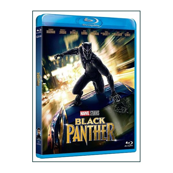 Black Panther blu ray 2018 Acción Cine Fantástico de Superhéroes