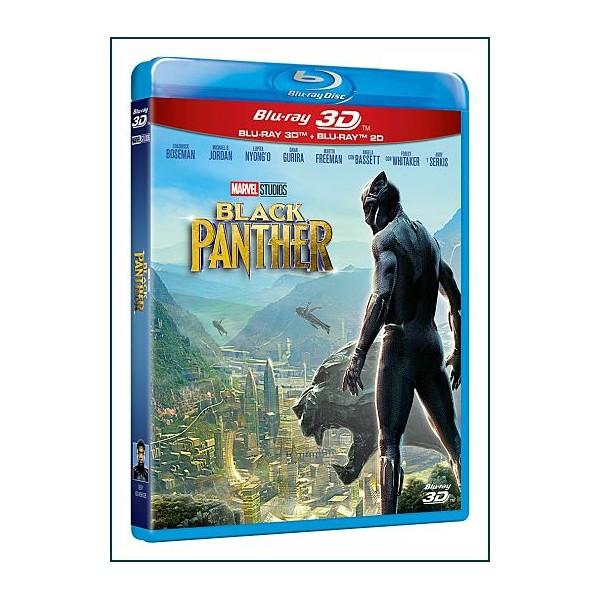 Black Panther 3D 2018 Acción Cine Fantástico de Superhéroes