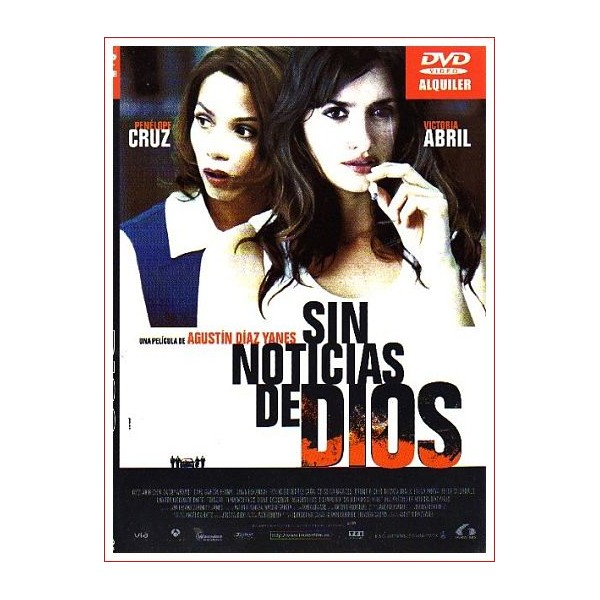 SIN NOTICIAS DE DIOS 2001 DVD Cine Español Director Agustín Díaz Yanes