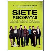 SIETE PSICÓPATAS DVD 2012 Dirección Martin McDonagh