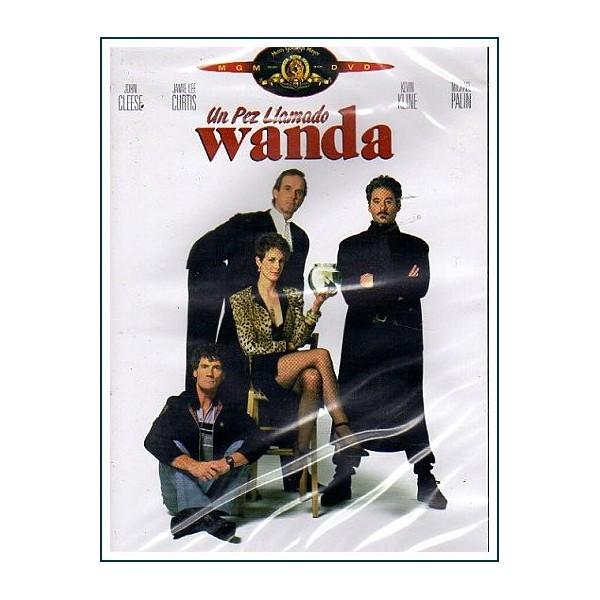 UN PEZ LLAMADO WANDA ED 2 DISCOS DVD Comedia y Crimen Robo y Atraco
