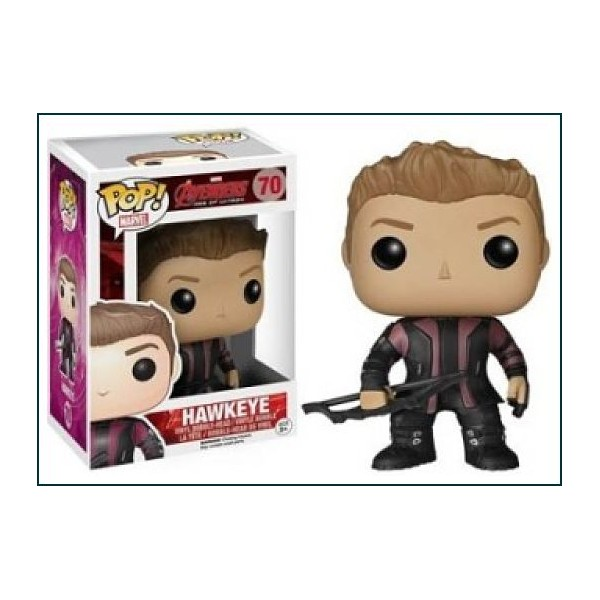 FUNKO POP HAWKEYE ERA DE ULTRON DE MARVEL