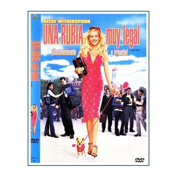 UNA RUBIA MUY LEGAL DVD
