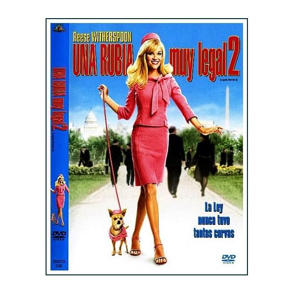 UNA RUBIA MUY LEGAL 2 DVD 2003 Dirección Charles Herman-Wurmfeld