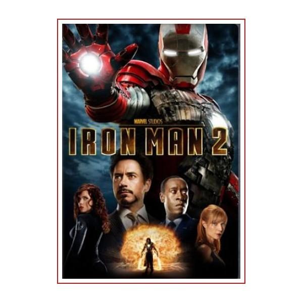 IRON MAN 2 DVD Ficción 2010 Dirección Jon Favreau