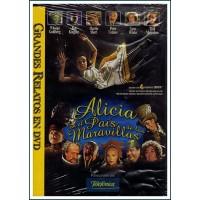 ALICIA EN EL PAIS DE LAS MARAVILLAS DVD 1999
