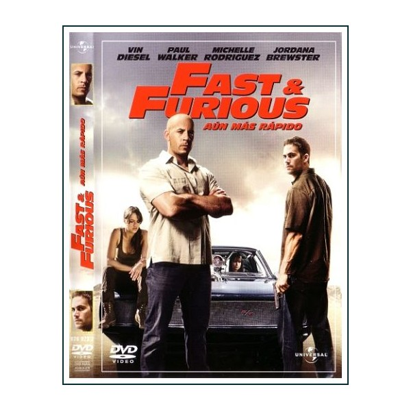 Fast & Furious: Aún más rápido (A todo gas 4) DVD 2009 Dir. Justin Lin