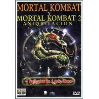 MORTAL KOMBAT I - MORTAL KOMBAT II (Aniquilación) dvd acción