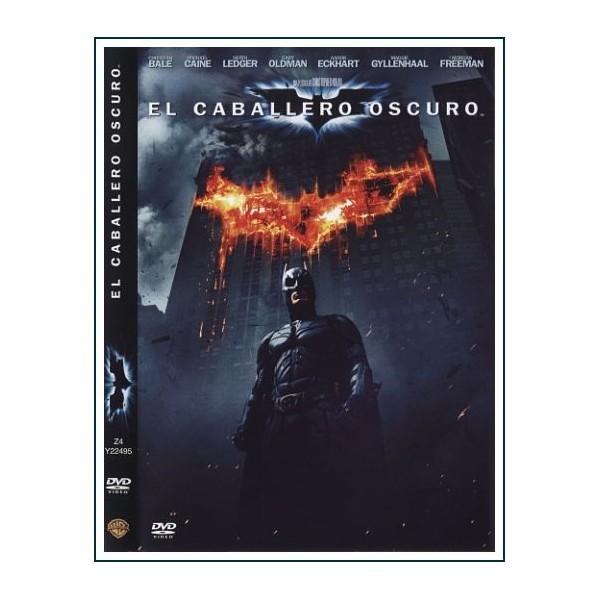 EL CABALLERO OSCURO 2008 Dvd Comic Dirección Christopher Nolan
