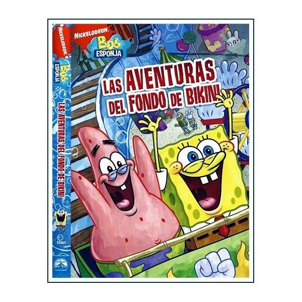 BOB ESPONJA LAS AVENTURAS DEL FONDO DE BIKINI DVD 2010