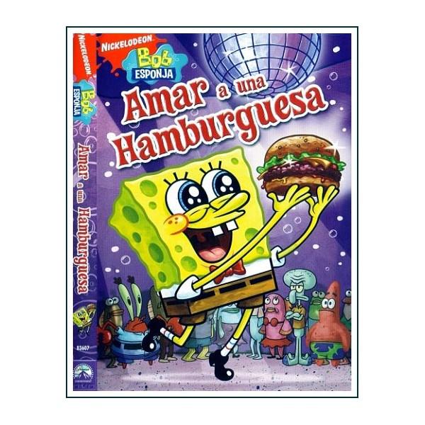 BOB ESPONJA AMAR A UNA HAMBURGUESA DVD 2009 Infantil