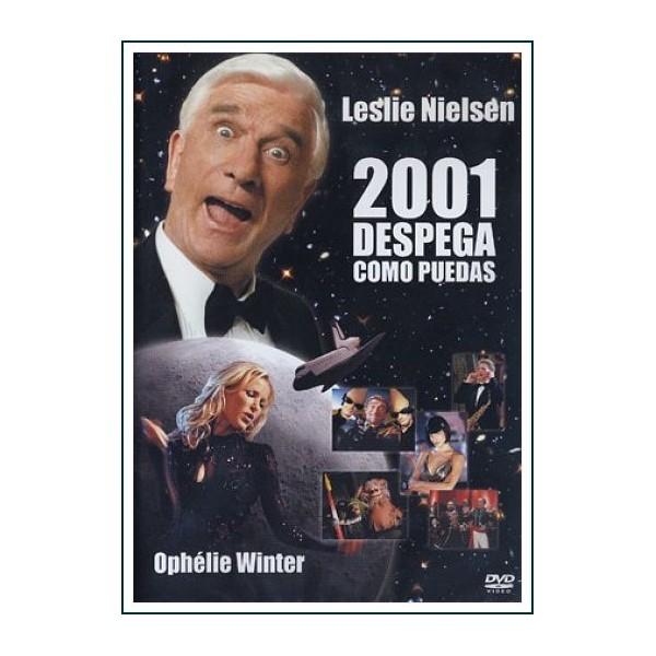 2001 DESPEGA COMO PUEDAS dvd 2000 Dirección Allan A. Goldstein