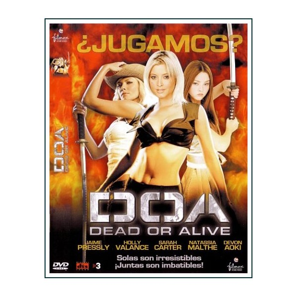 DOA DEAD OR ALIVE DVD 2006 Dirección Corey Yuen
