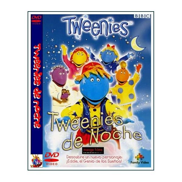 TWEENIES DE NOCHE DVD 1999 Marionetas