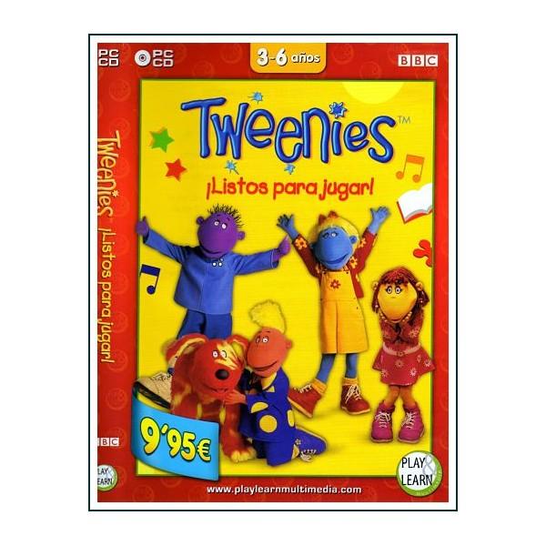 TWEENIES LISTOS PARA JUGAR DVD 1999 Serie Musical Preescolar