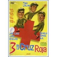 3 DE LA CRUZ ROJA Dvd 1961 Dirección Fernando Palacios