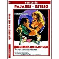 QUEREMOS UN HIJO TUYO (DVD 1981) Dvd Director Mariano Ozores