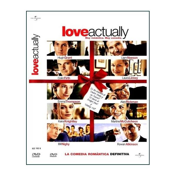 LOVE ACTUALLY DVD 2003 Romántica Dirección Richard Curtis