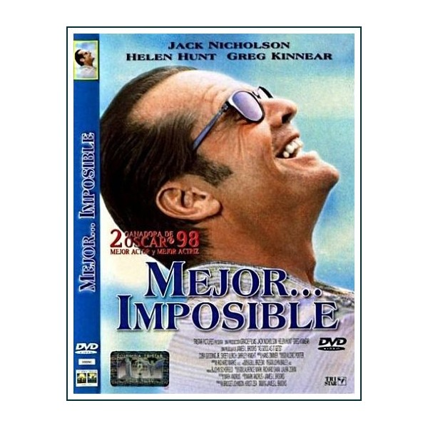 MEJOR IMPOSIBLE DVD 1997 COMEDIA Dirección James L. Brooks