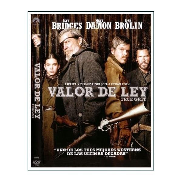 VALOR DE LEY 2010 (TRUE GRIT) DVD Dirección Joel Coen, Ethan Coen