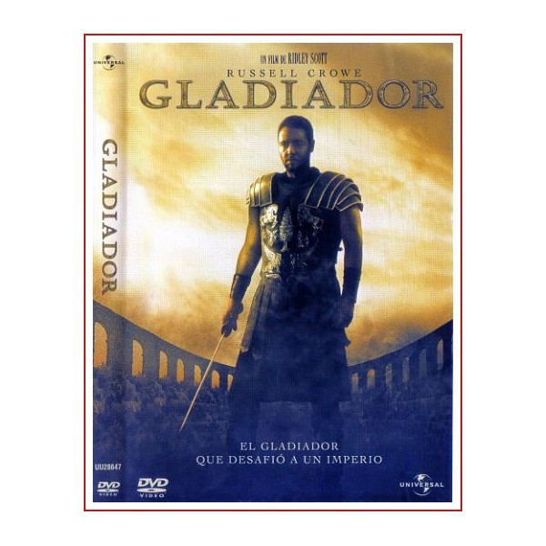 GLADIATOR (EL GLADIADOR) Dvd 2000 Dirección Ridley Scott