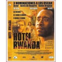 HOTEL RWANDA DVD 2004 Dirección Terry George