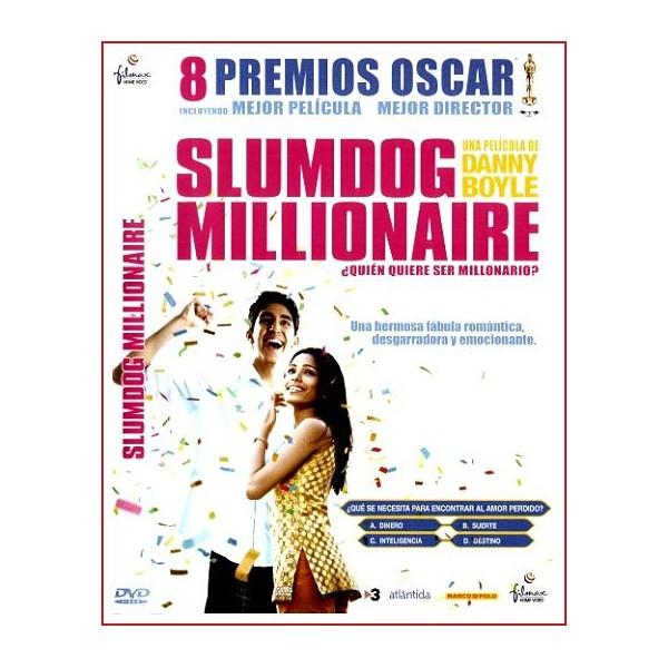SLUMDOG MILLIONAIRE ¿QUIEN QUIERE SER MILLONARIO? DVD 2008 Música A.R.