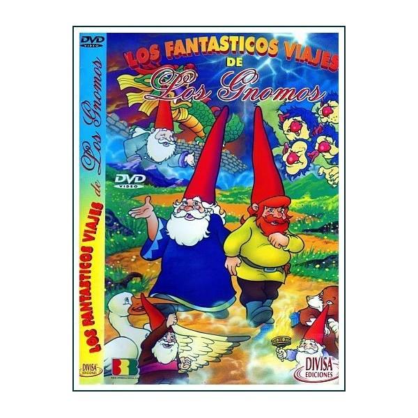 LOS FANTASTICOS VIAJES DE LOS GNOMOS DVD 1997 Cine familiar Telefilm