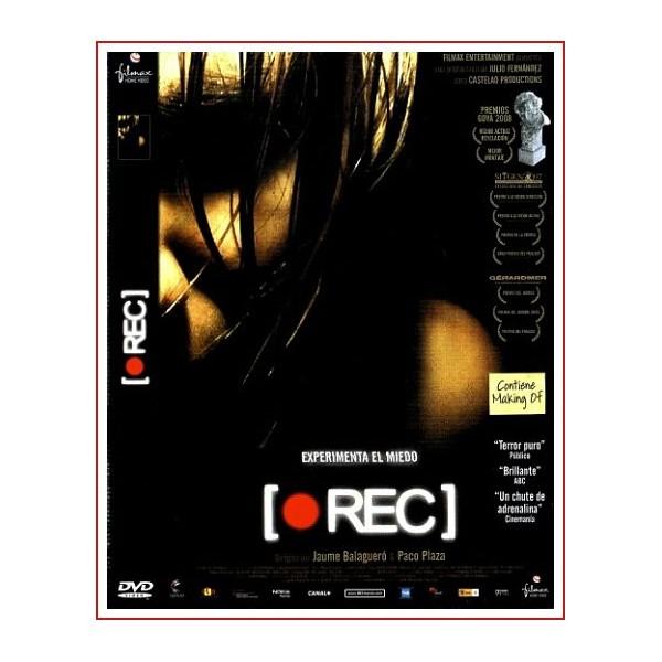 REC DVD 2007 Cine Español Dirección Jaume Balagueró