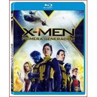 X-MEN PRIMERA GENERACION 2011 Blu-Ray Dirección Matthew Vaughn