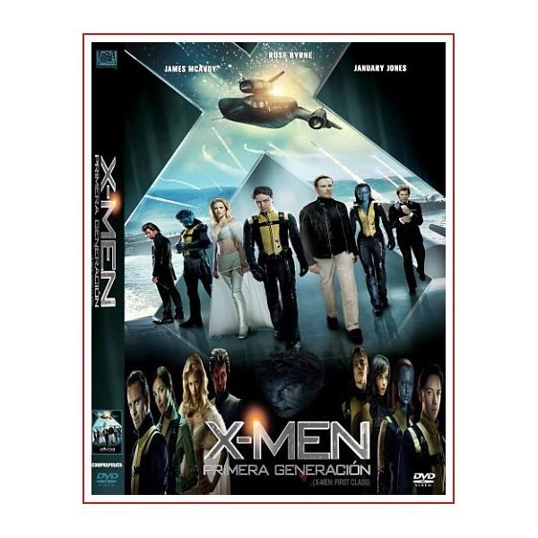 X-MEN PRIMERA GENERACIÓN 2011 DVD Dirigida por Matthew Vaughn