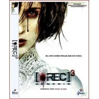 REC 3 GENESIS DVD 2011 Cine Español Terror y Zombis