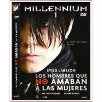 MILLENNIUM I LOS HOMBRES QUE NO AMABAN A LAS MUJERES DVD 2009