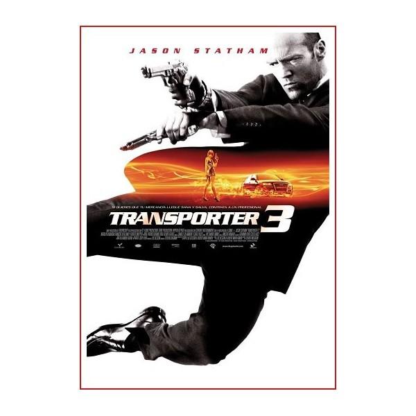 TRANSPORTER 3 DVD 2009 Dirección Olivier Megaton