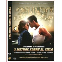 3 METROS SOBRE EL CIELO DVD 2010 Cine Español Dir. Fernando González