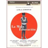 LA MALA EDUCACION DVD 2004 Cine Español Dirigida por Pedro Almodóvar