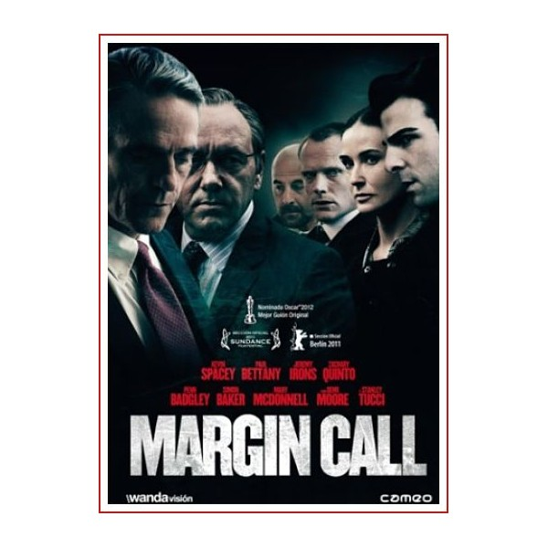 MARGIN CALL DVD 2011 Dirección J.C. Chandor