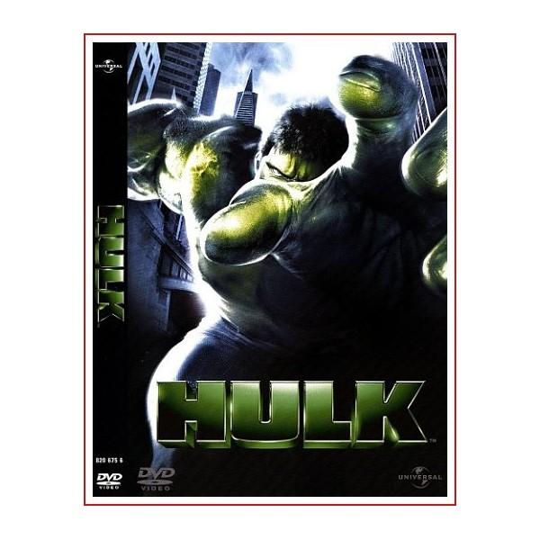 HULK DVD 2003 Comic de Marvel Dirección Ang Lee