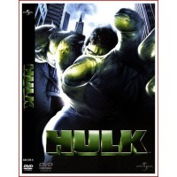 HULK DVD 2003 Comic de Marvel Dirección Ang Lee
