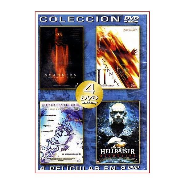 COLECCIÓN 4 PELÍCULAS EN 2 DVD